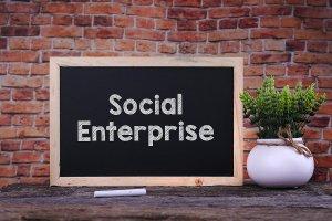 bigstock_Social_Enterprice_Word_On_Blac_179385241