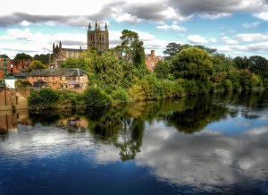 Hereford-Seen-From-The-South