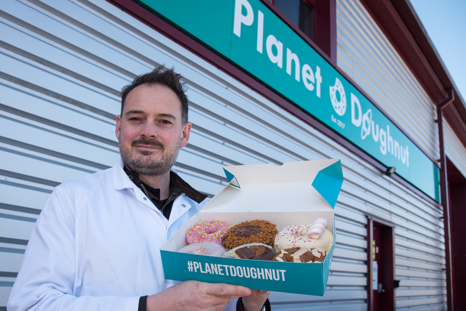 Planet Doughnut Marches Building Investment Grant